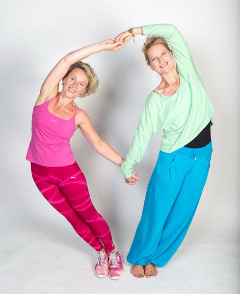 Heike Oellerich und Miriam Wessels